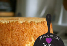 Renal Recipe-Spicy Angel Cake