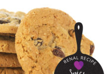 Renal Recipe-Spicy Raisin Cookies