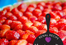 Renal Recipe-Strawberry Pie