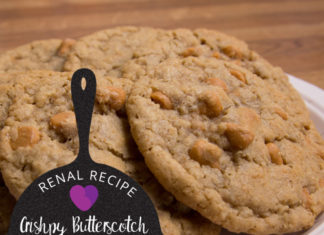 Renal Recipe-crispy Butterscotch