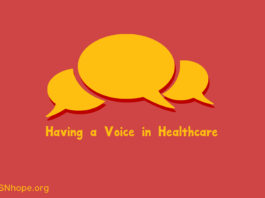 Having a Voice in Healthcare