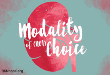 Modality of Choice Kidney Dialysis