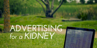 Advertising for a Kidney