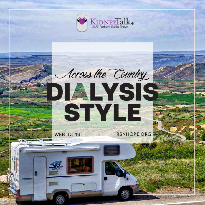 home hemodialysis - travel dialysis - kidneytalk - kidney talks