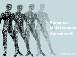 Personal Maintenance Agreement