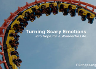 Turning Scary Emotions into Hope