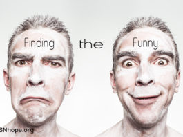healing power humor - finding the funny