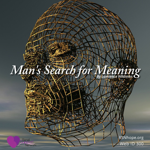 mans search for meaning essay Man's search for meaning is a book about many things it comes in two parts: the  first about frankl's experience as a prisoner in auschwitz, and.