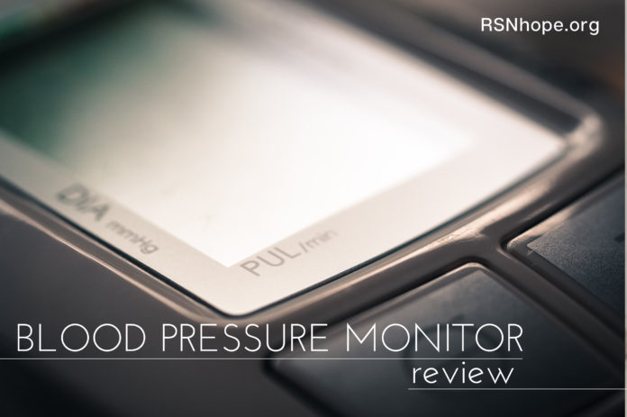 Blood Pressure Monitor Review