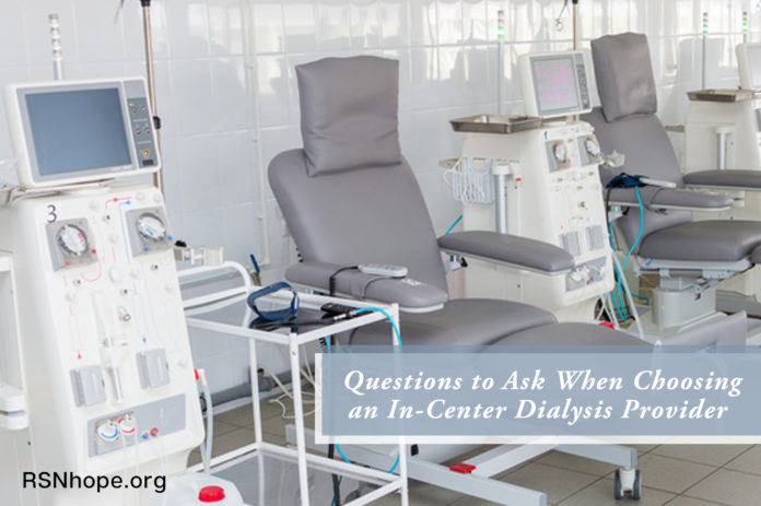 In-Center Dialysis Provider