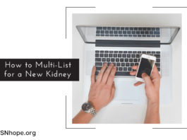 How to Multi-List for a New Kidney