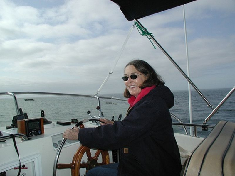 Looking for Adventure on Dialysis - Sharon - Boat