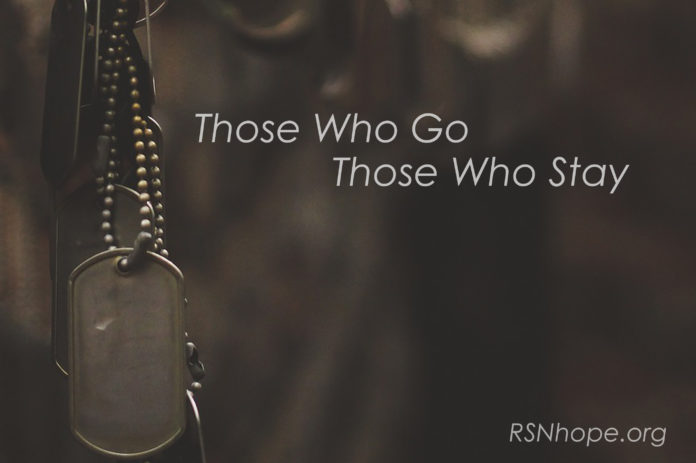 Those who stay those who go -poem by Jim Dineen