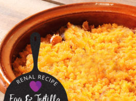Megas - Renal Diet - Egg and Tortilla Skillet Breakfast
