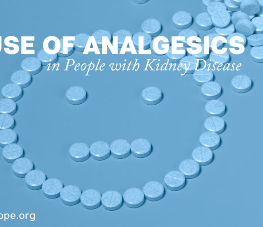 Use of Analgesics in People with Kidney Disease