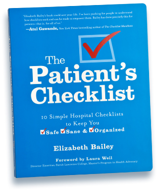 the patients check list - Hospital Checklist