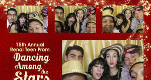 15th annual renal teen prom - photo booth