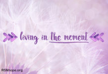 Living in the moment - kidney disease