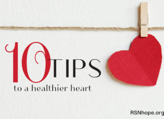 Ten Tips to a Healthier Heart