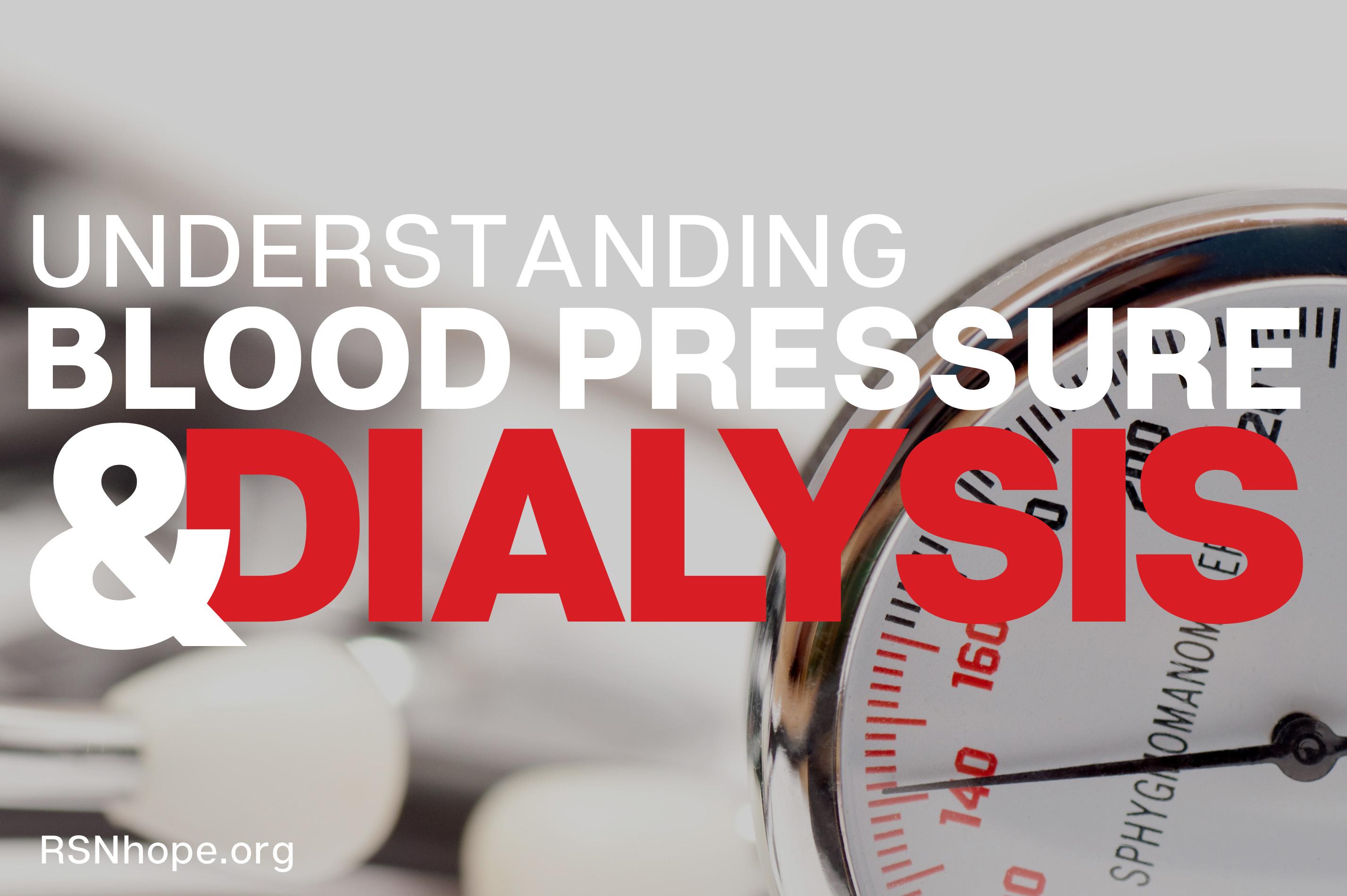 understanding blood pressure dialysis