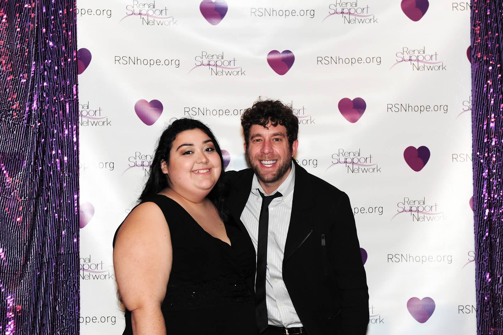 Sarissa Velarde and Elliott Yamin