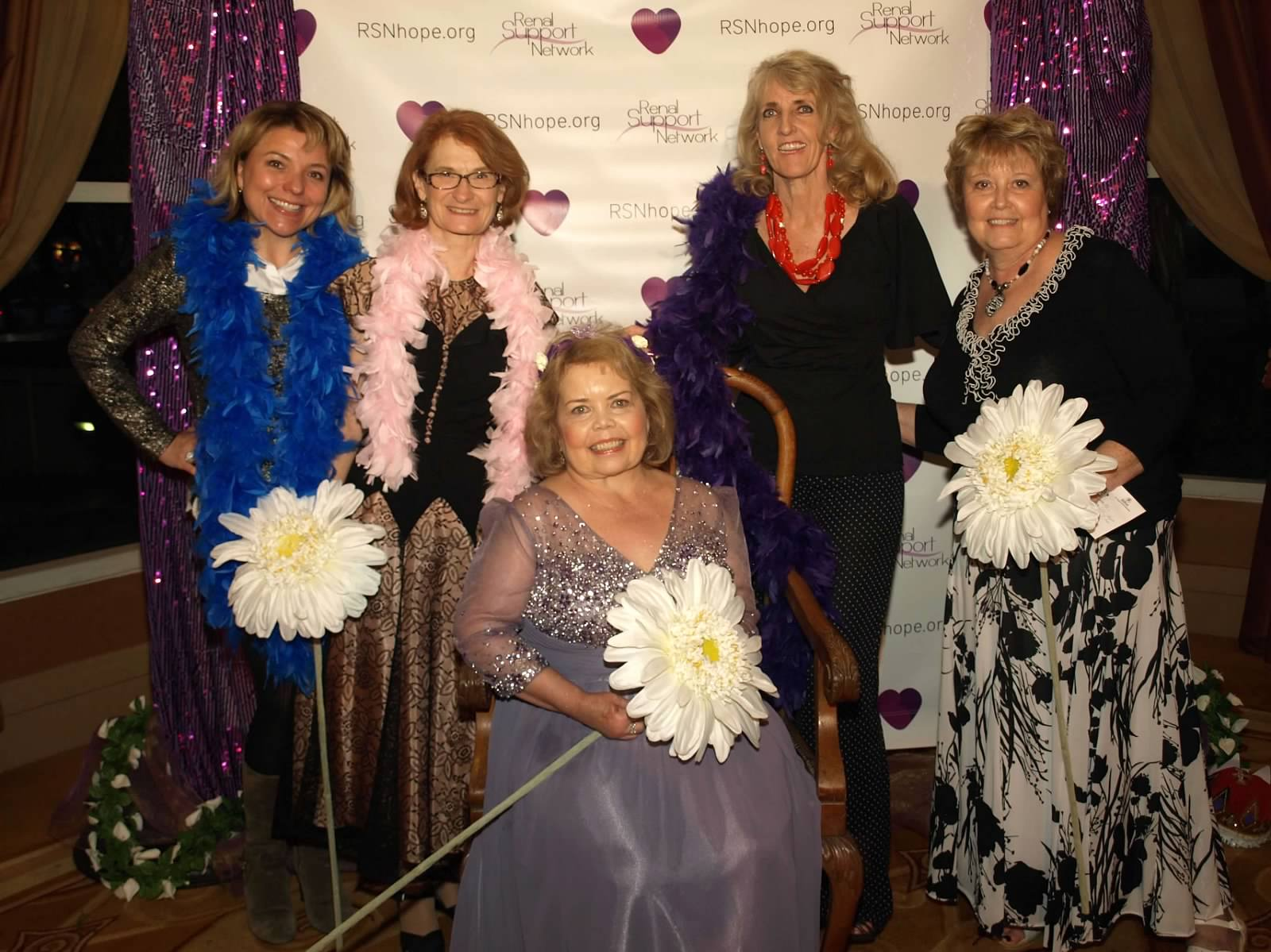 Volunteers renal teen prom