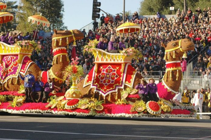 Donate Life Rose Parade Float - 128th Tournament of Roses Parade