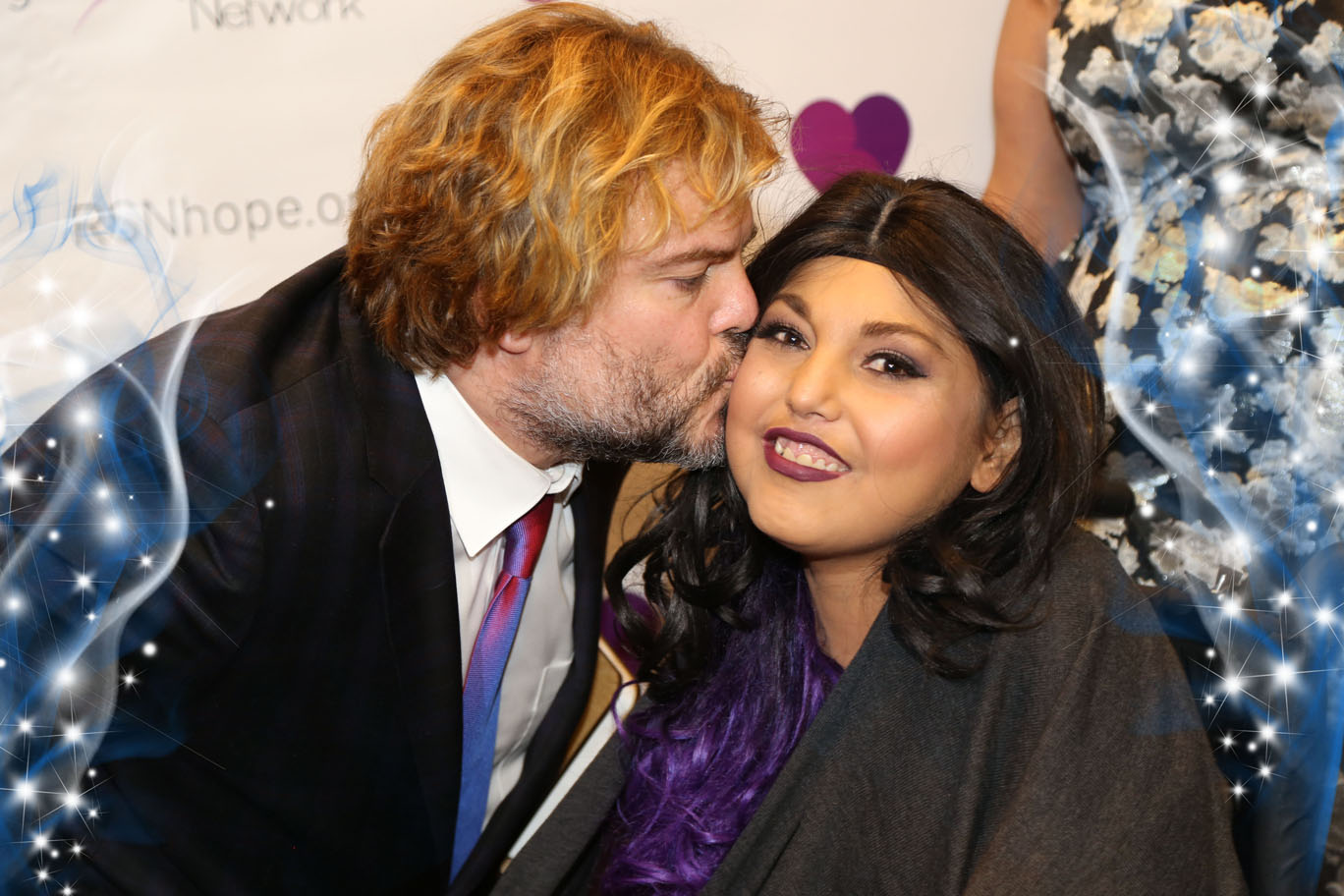 Jack Black and and renal teen prom Heather Gutierrez
