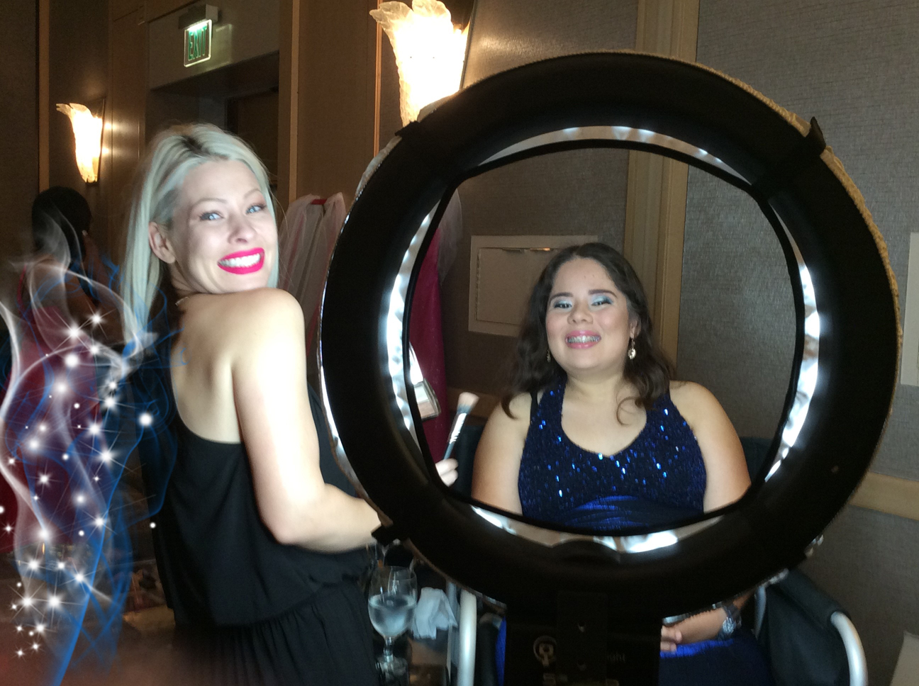 Renal teen prom - make up