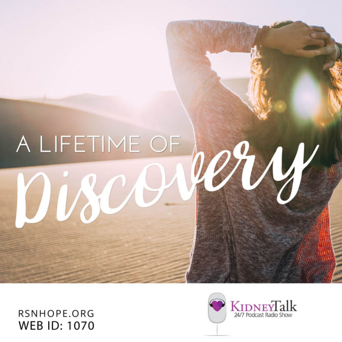 KidneyTalk Lifetime of Discovery Heather Powell