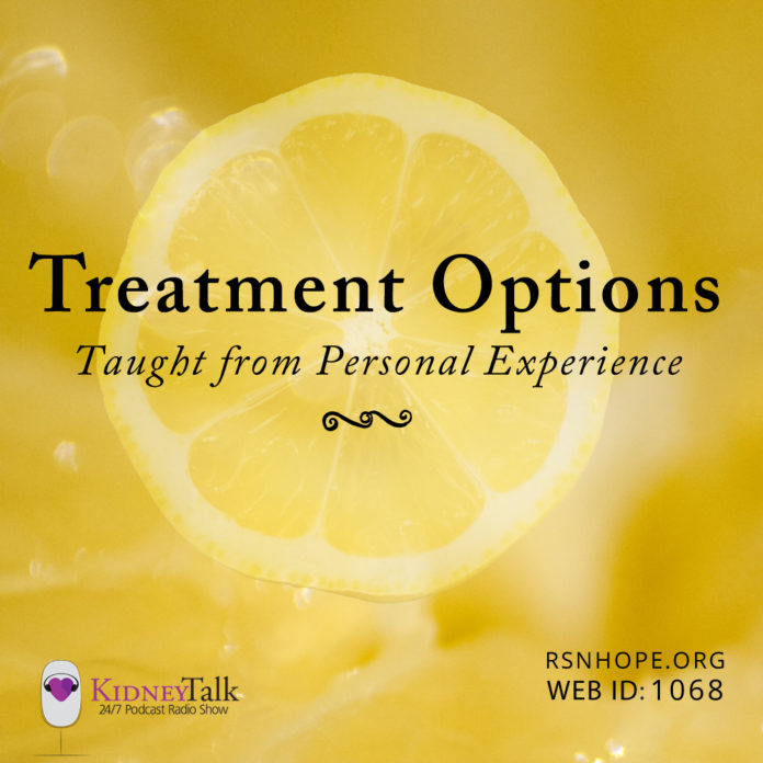 dialysis and transplant treatments - kidney talk