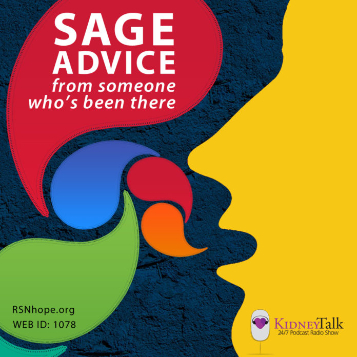 Kidney-Talk-Sage-Advice-Renal-Support-Network