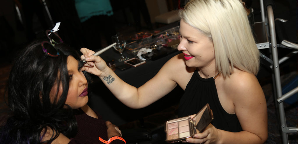 18th Annual Renal Teen Prom Makeup