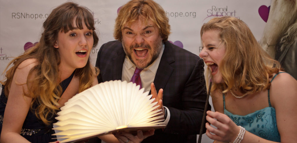Jack Black 18th Annual Renal Teen Prom