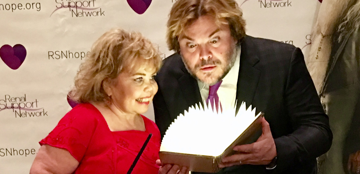 Jack Black and Lori Hartwell 18th Annual Renal Teen Prom