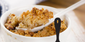 Renal Recipe Butterscotch Apple Crisp