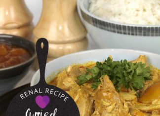 Renal Recipe Curried Turkey and Rice