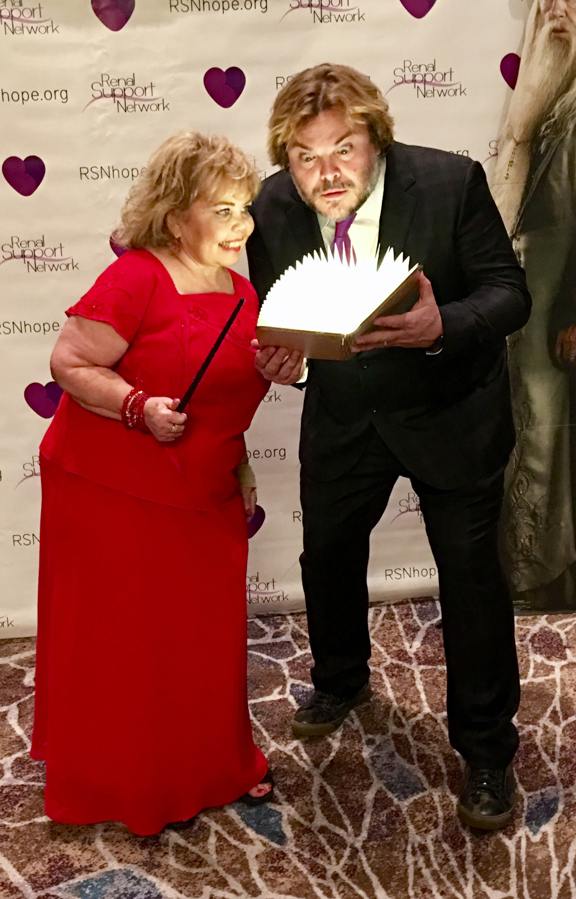 Lori Hartwell and Jack Black are Spellbound at the 18th Annual Renal Teen Prom