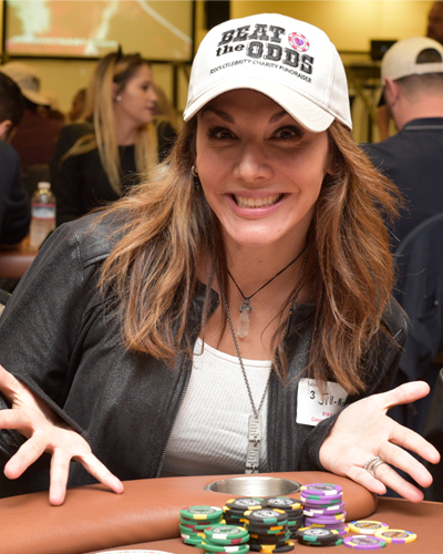 Jill-Michele Melean - Poker Tournament