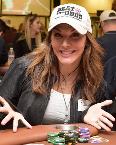 Jill-Michele Melean - Poker Tournament