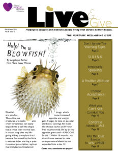 Live and Give Newsletter Fall-Winter 2014