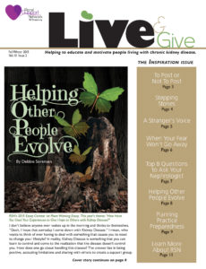 Live and Give Fall-Winter 2015
