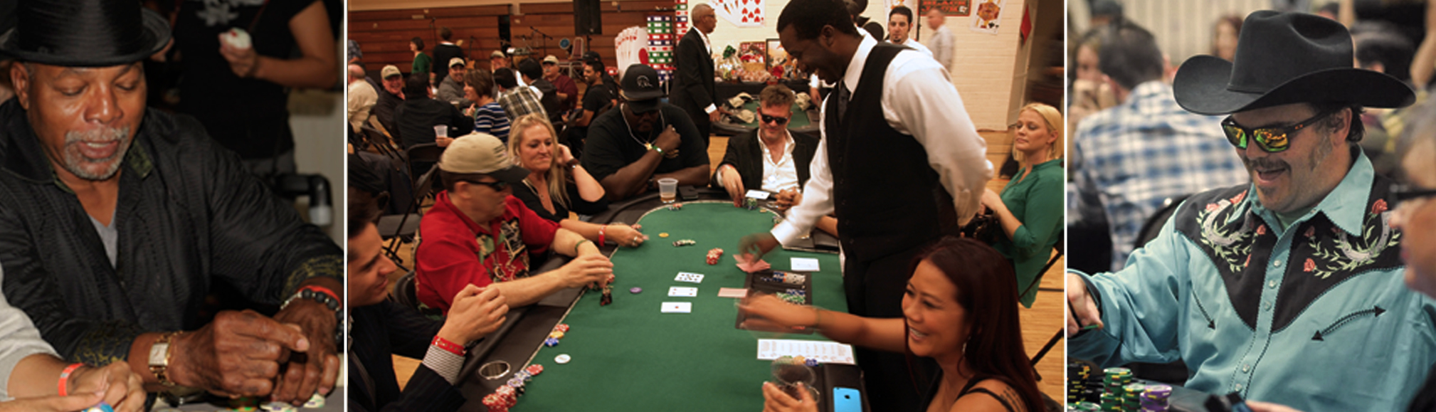 Beat the Odds - Celebrity Poker Tournament