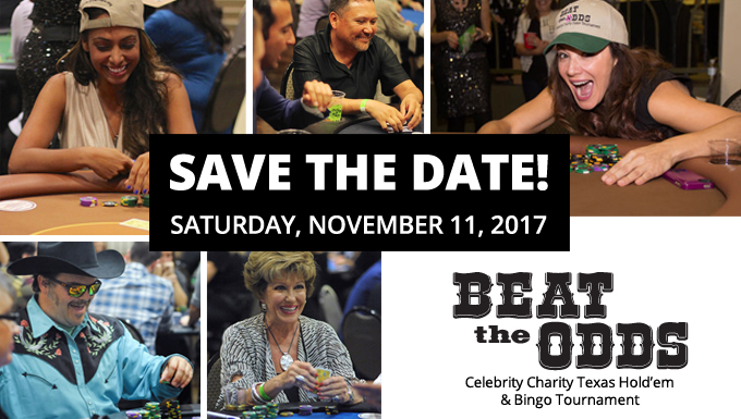 2017 Beat The Odds Celebrity Poker and Bingo