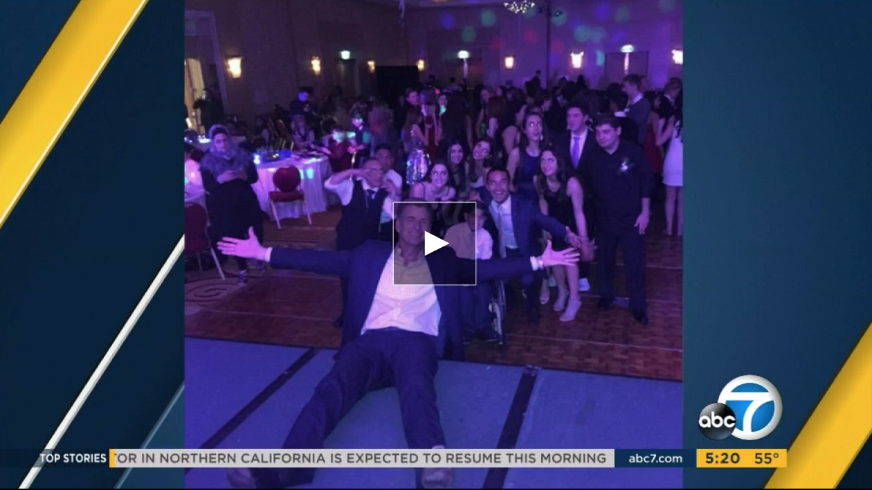 ABC& Los Angeles - Phillip Palmer - Teens battling kidney disease celebrate prom night