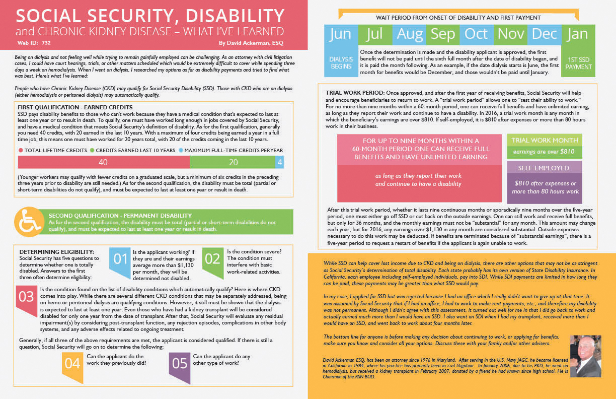 Social Security and Disability Infograpic