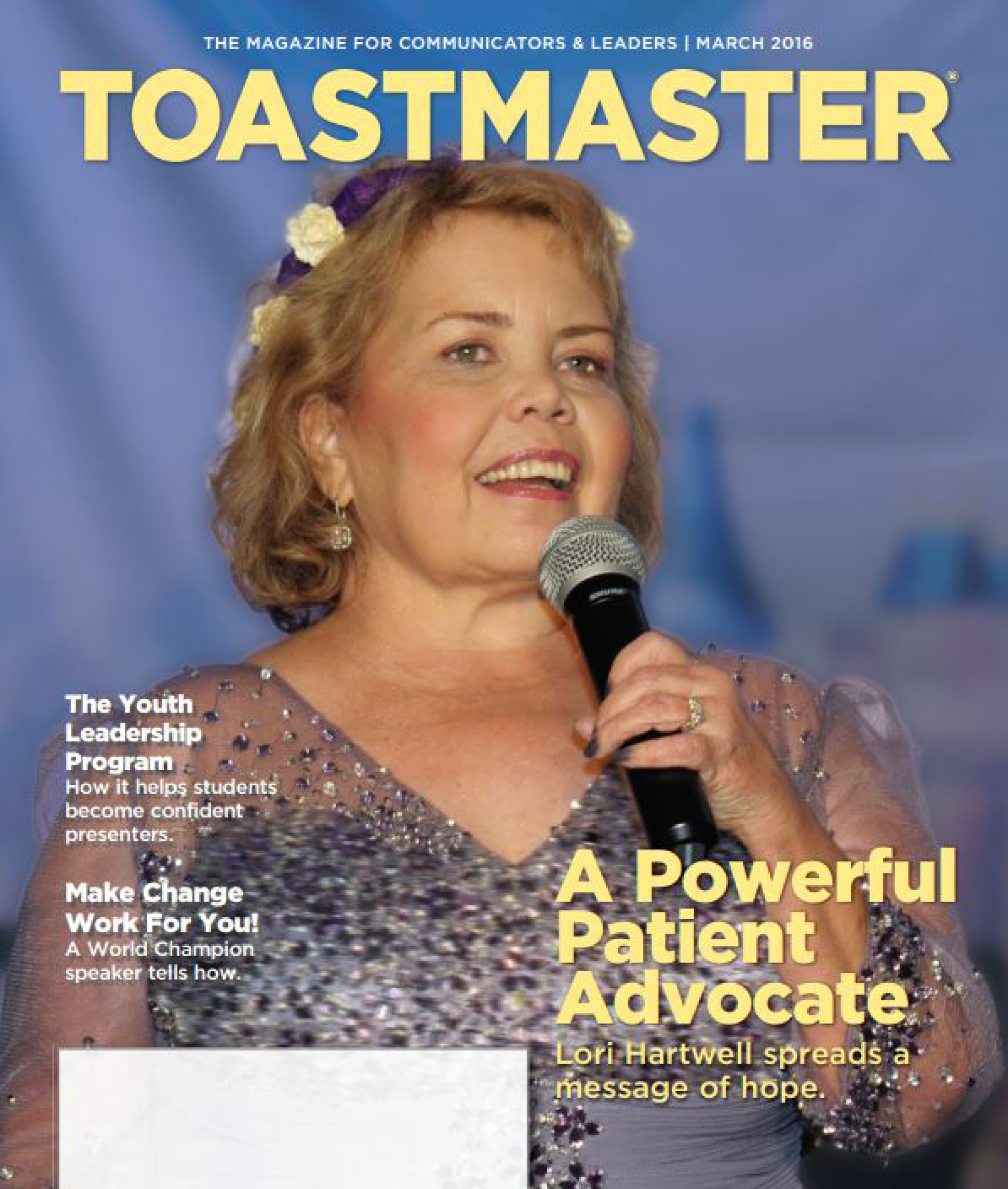 Toastmasters   Powerful Patient Advocate