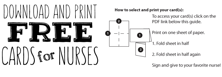 Nurses Week Greeting Card Instructions Renal Support Network