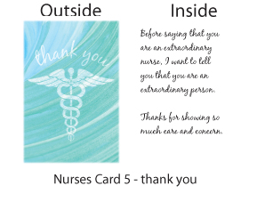free nurse's week greeting cards