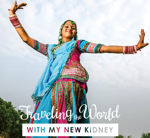 Traveling with a kidney transplant